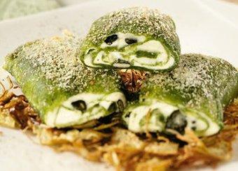 Fagottini verdi con robiola